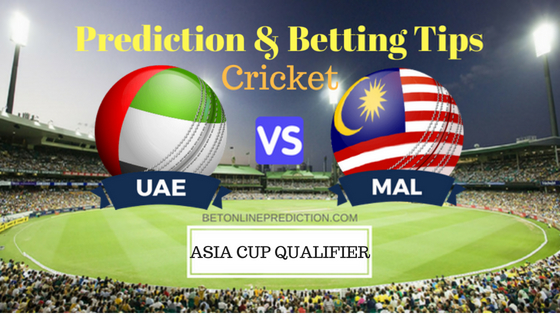United Arab Emirates vs Malaysia 11th ODI Prediction and Free Betting Tips 2nd September 2018