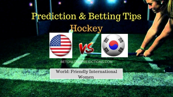 Usa W vs South Korea W Hockey Free Prediction 16th September 2018