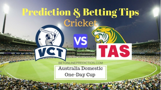 Victoria vs Tasmania 3rd ODI Prediction and Free Betting Tips 19th September 2018 (1)