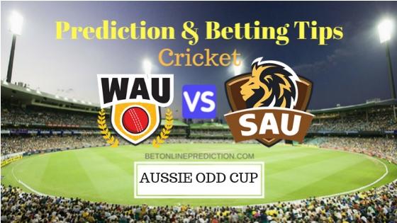 Western Australia vs South Australia 5th ODI Prediction and Free Betting Tips 22th September 2018