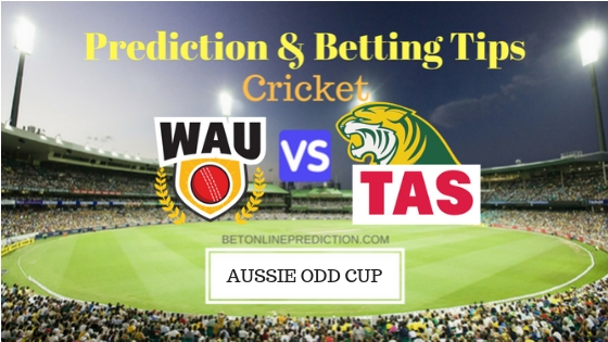 Western Australia vs Tasmania 15th ODI Prediction and Free Betting Tips 1st October 2018