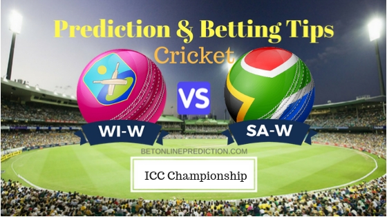 Windies Women vs South Africa Women 1st ODI Prediction and Free Betting Tips 16th September 2018