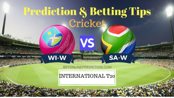 Windies Women vs South Africa Women 1st T20 Prediction and Free Betting Tips 24th September 2018