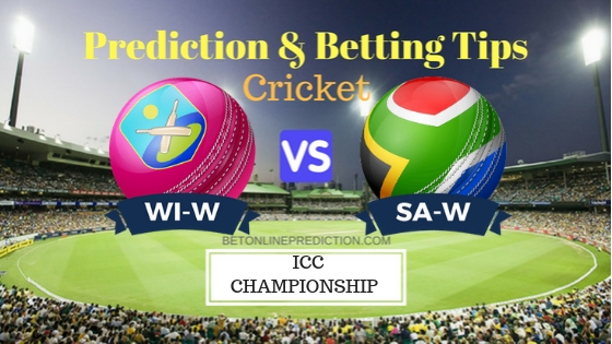 Windies Women vs South Africa Women 2nd ODI Prediction and Free Betting Tips 19th September 2018
