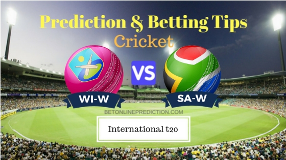 Windies Women vs South Africa Women 3rd T20 Prediction and Free Betting Tips 1st October 2018