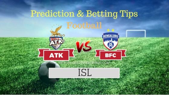 ATK vs Bengaluru FC Team, Team News, Winner Prediction 31th October 2018