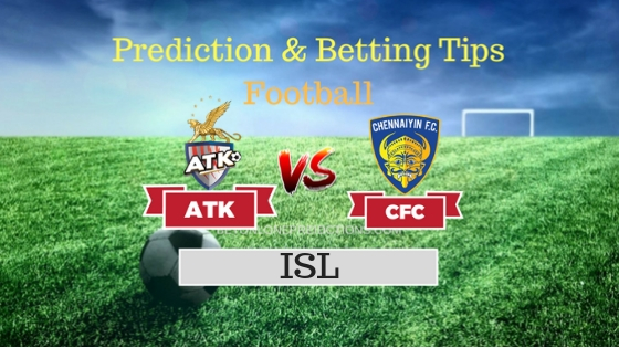 ATK vs Chennaiyin Team, Team News, Winner Prediction 26th October 2018