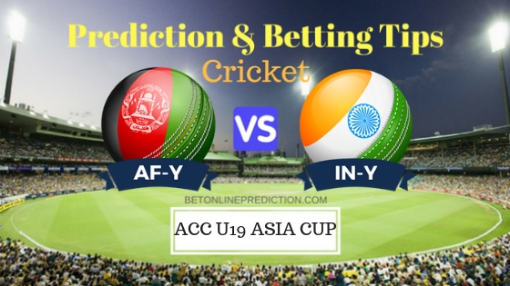 Afghanistan U19 vs India U19 Group A ODI Prediction and Free Betting Tips 2nd October 2018