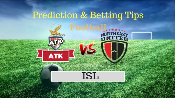 Atletico de Kolkata vs North East United FC Prediction and Free Betting Tips 4th October 2018