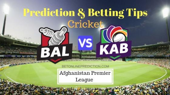 Balkh Legends vs Kabul Zwanan 14th T20 Prediction and Free Betting Tips 14th October 2018