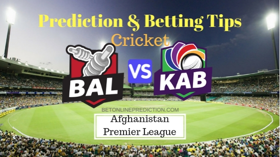 Balkh Legends vs Kabul Zwanan Final T20 Dream11 Team, Team News, Winner Prediction 21th October 2018