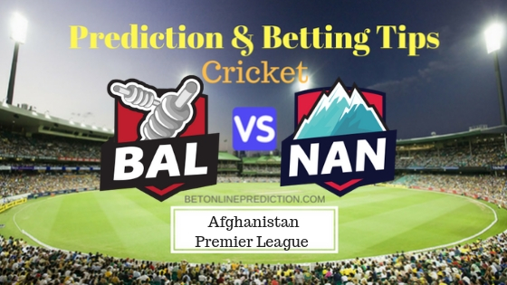 Balkh Legends vs Nangarhar Leopards 17th T20 Team, Team News, Winner Prediction 17th October 2018