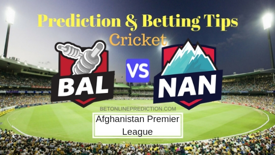 Balkh Legends vs Nangarhar Leopards 9th T20 Prediction and Free Betting Tips 11th October 2018