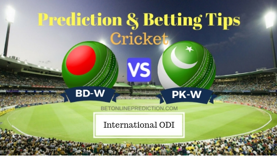 Bangladesh Women vs Pakistan Women Only ODI Prediction and Free Betting Tips 08th October 2018