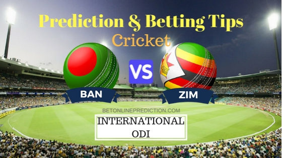 Bangladesh vs Zimbabwe 1st ODI Team, Team News, Winner Prediction 21th October 2018