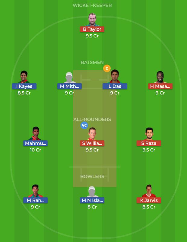 Bangladesh vs Zimbabwe 2nd ODI Dream11 Team, Team News, Winner Prediction 24th October 2018