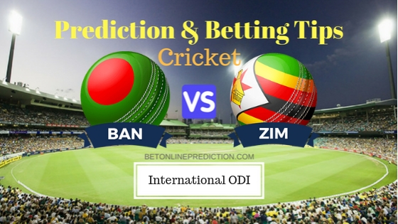 Bangladesh vs Zimbabwe 2nd ODI Team, Team News, Winner Prediction 24th October 2018