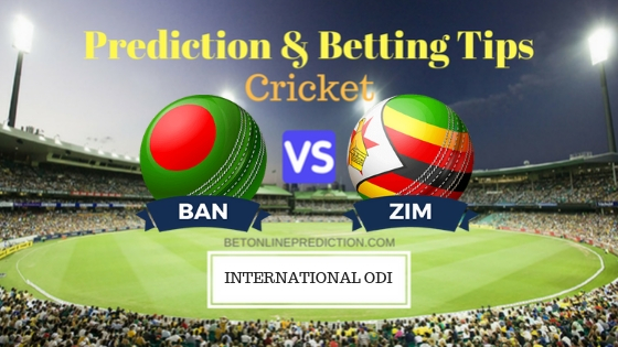 Bangladesh vs Zimbabwe 3rd ODI Team, Team News, Winner Prediction 26th October 2018