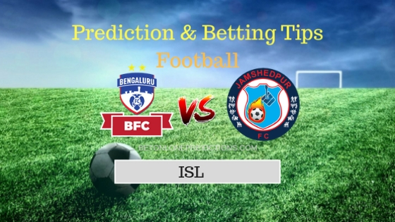 Bengaluru vs Jamshedpur Prediction and Free Betting Tips 07th October 2018