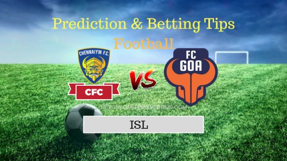 Chennaiyin vs Goa Prediction and Free Betting Tips 06th October 2018