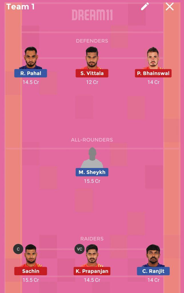 Dabang Delhi vs Gujarat FortuneGiants Dream11 Prediction 09th October 2018