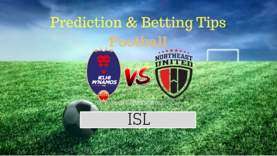 Delhi DYnamos FC vs North East United FC 23th Team, Team News, Winner Prediction 30th October 2018