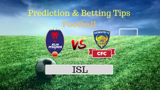 Delhi Dynamos vs Chennaiyin Team, Team News, Winner Prediction 23th October 2018