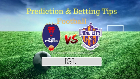 Delhi Dynamos vs Pune City Prediction and Free Betting Tips 3rd October 2018