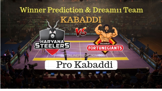 Haryana Steelers vs Gujarat FortuneGiants Prediction and Free Betting Tips 12th October 2018