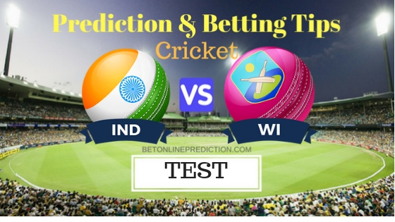 India vs Windies 2nd TEST Prediction and Free Betting Tips 12th October 2018