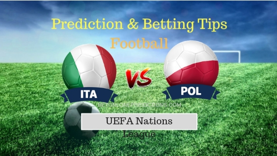 Italy vs Poland Prediction and Free Betting Tips 15th October 2018