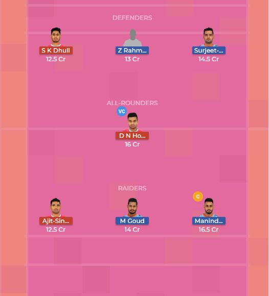 Jaipur Pink Panthers vs Bengal Warriors 35th Dream11 Team, Team News, Winner Prediction 27th October 2018