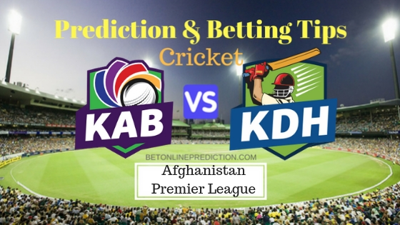 Kabul Zwanan vs Kandahar Kings 16th T20 Team, Team News, Winner Prediction 16th October 2018