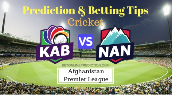 Kabul Zwanan vs Nangarhar Leopards 11th T20 Prediction and Free Betting Tips 12th October 2018