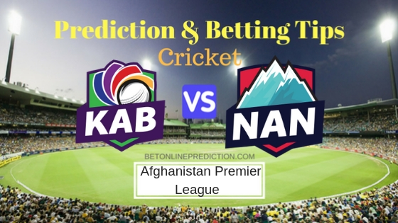 Kabul Zwanan vs Nangarhar Leopards 6th T20 Prediction and Free Betting Tips 9th October 2018