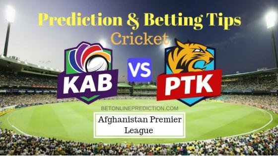 Kabul Zwanan vs Paktia Royals 1st T20 Prediction and Free Betting Tips 05th October 2018