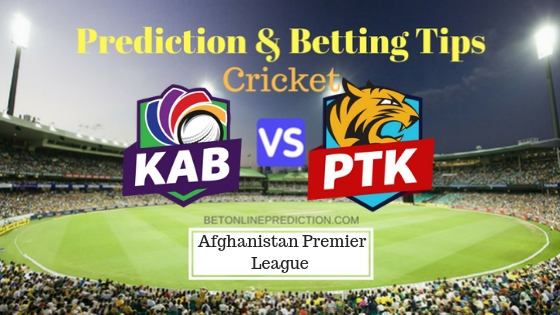 Kabul Zwanan vs Paktia Royals 20th T20 Team, Team News, Winner Prediction 18th October 2018
