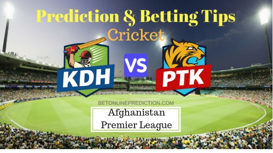Kandahar Kings vs Paktia Royals 10th T20 Prediction and Free Betting Tips 12th October 2018