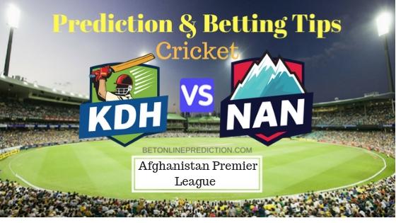Kandahar vs Nangarhar Leopards 13th T20 Prediction and Free Betting Tips 13th October 2018