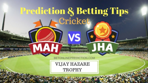 Maharashtra vs Jharkhand 3rd Quarter-Final ODI Prediction and Free Betting Tips 15th October 2018