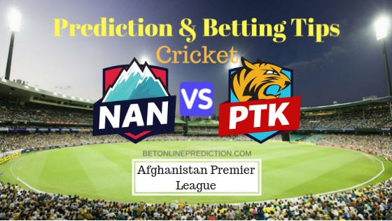 Nangarhar Leopards vs Paktia Panthers 4th T20 Prediction and Free Betting Tips 07th October 2018