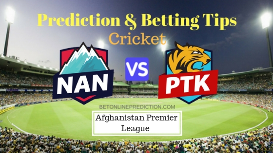 Nangarhar Leopards vs Paktia Royals 15th T20 Prediction and Free Betting Tips 14th October 2018