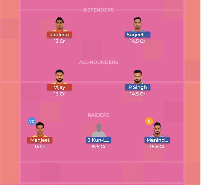 Patna Pirates vs Bengal Warriors 43th Dream11 Team, Team News, Winner Prediction 1st November 2018