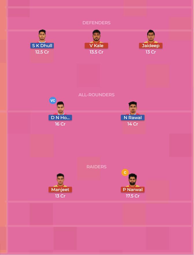 Patna Pirates vs Jaipur Pink Panthers 33th Dream11 Team, Team News, Winner Prediction 26th October 2018
