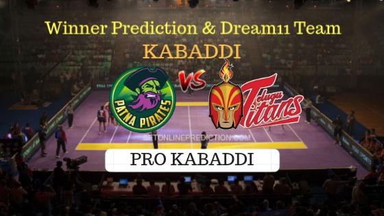 Patna Pirates vs Telugu Titans 23th Team, Team News, Winner Prediction 19th October 2018