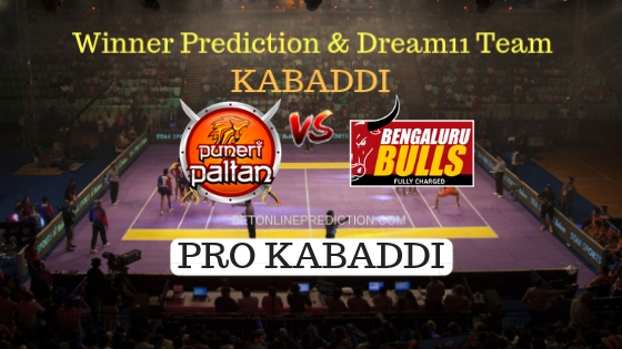Puneri Paltan vs Bengaluru Bulls 28th Team, Team News, Winner Prediction 21th October 2018