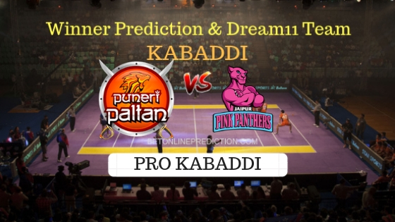 Puneri Paltan vs Jaipur Pink Panthers 24th T20 Team, Team News, Winner Prediction 19th October 2018