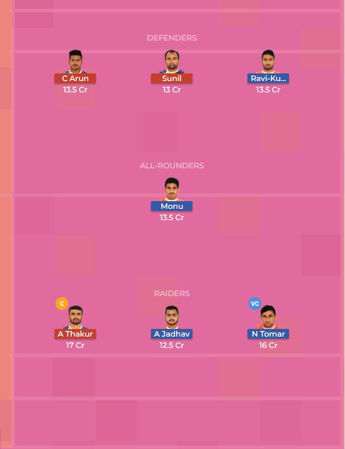 Puneri Paltan vs Tamil Thalaivas 30th Dream11 Team, Team News, Winner Prediction 23th October 2018