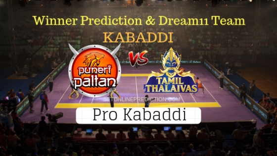 Puneri Paltan vs Tamil Thalaivas 30th Team, Team News, Winner Prediction 23th October 2018