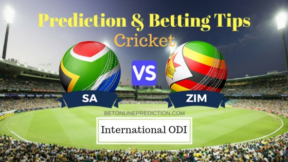 South Africa vs Zimbabwe 2nd ODI Prediction and Free Betting Tips 3rd October 2018